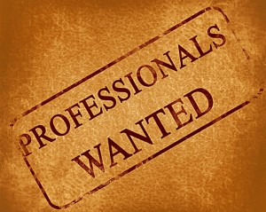 professionals wanted